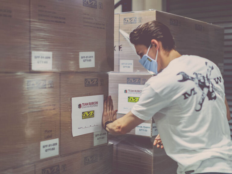 We Raised $60,000 and Donated 10,000 Gloves to Team Rubicon Disaster Relief