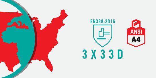Compare & Contrast EN 388: 2016 & ANSI 105: 2016 Testing Standards