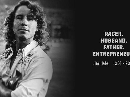 Jim Hale. Racer. Husband. Father. Entrepreneur.
